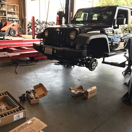 jeep suspension upgrades glendale